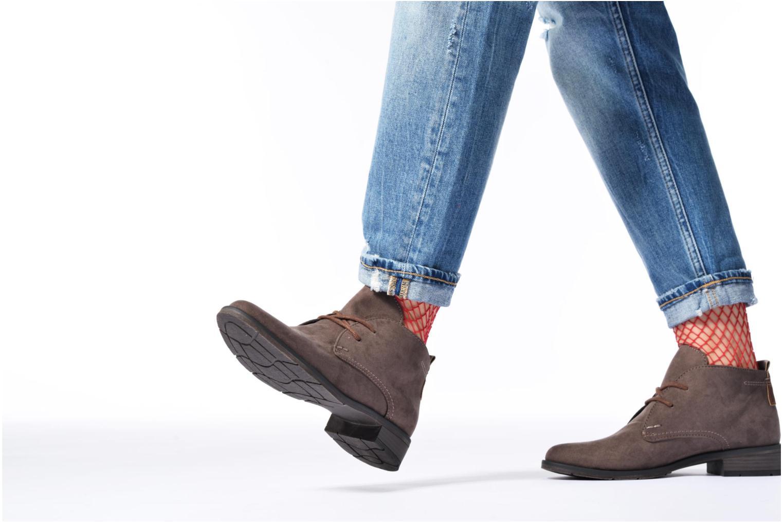 Zapatos con cordones Marco Tozzi Jina 2 Gris vista de abajo