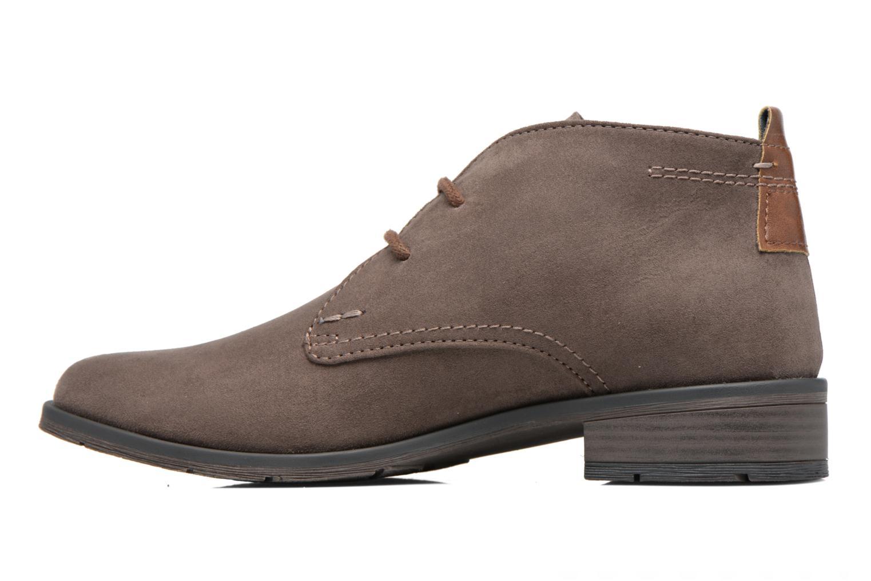 Zapatos con cordones Marco Tozzi Jina 2 Gris vista de frente