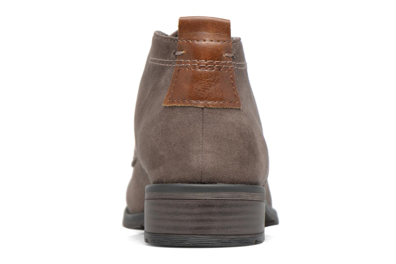 Zapatos con cordones Marco Tozzi Jina 2 Gris vista lateral derecha