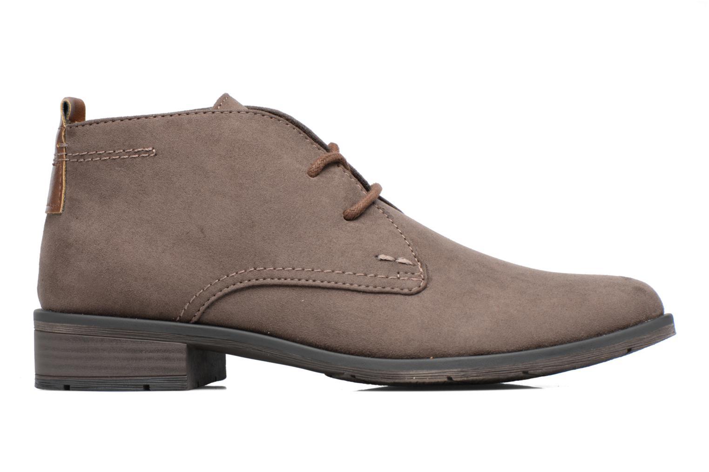 Zapatos con cordones Marco Tozzi Jina 2 Gris vistra trasera