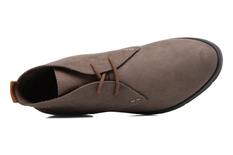 Zapatos con cordones Marco Tozzi Jina 2 Gris vista lateral izquierda