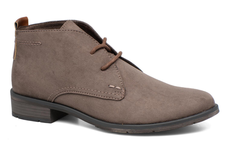 Zapatos con cordones Marco Tozzi Jina 2 Gris vista de detalle / par
