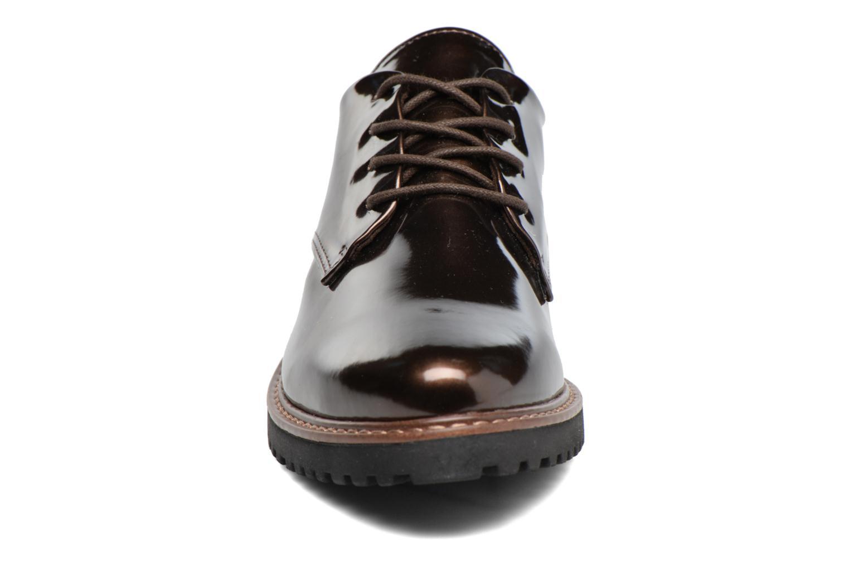Chaussures à lacets Marco Tozzi Beija Marron vue portées chaussures