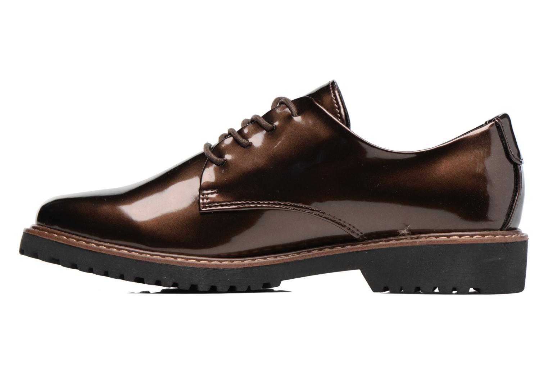 Chaussures à lacets Marco Tozzi Beija Marron vue face