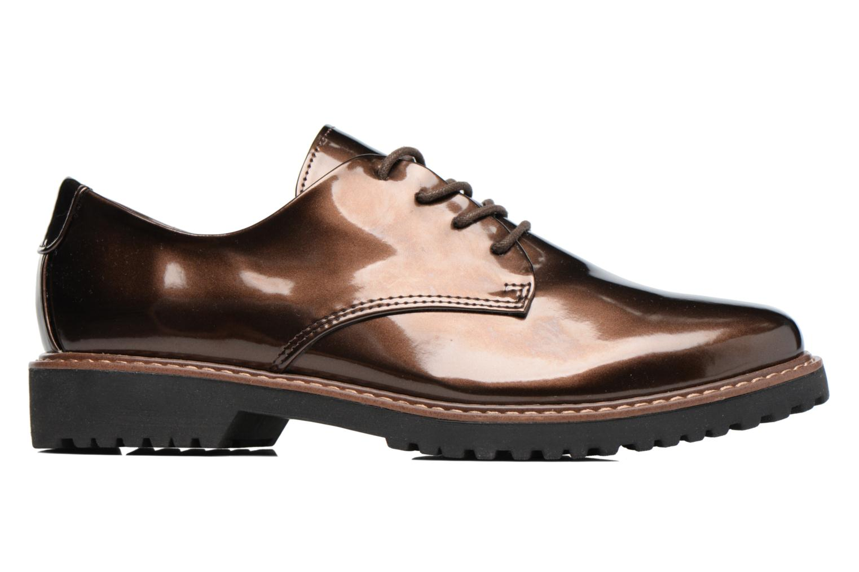Chaussures à lacets Marco Tozzi Beija Marron vue derrière