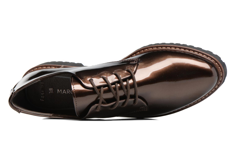 Chaussures à lacets Marco Tozzi Beija Marron vue gauche