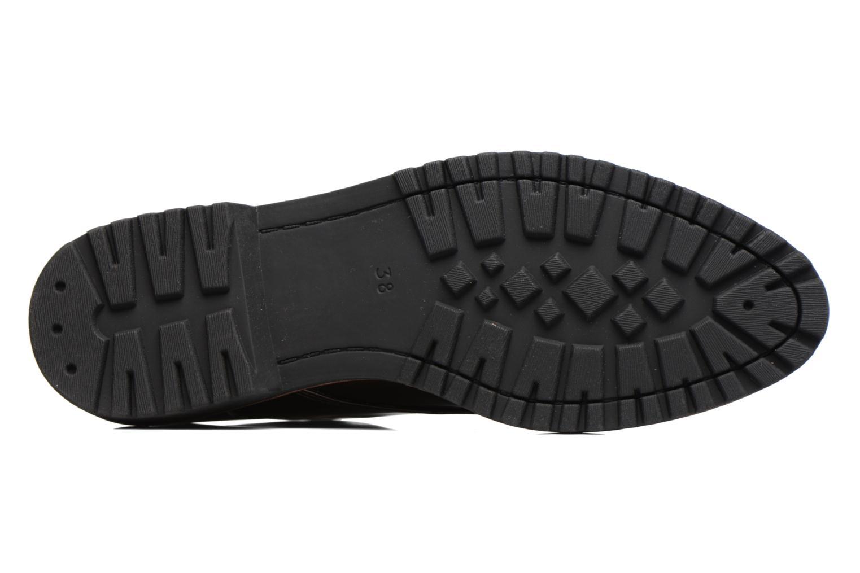 Chaussures à lacets Marco Tozzi Beija Marron vue haut