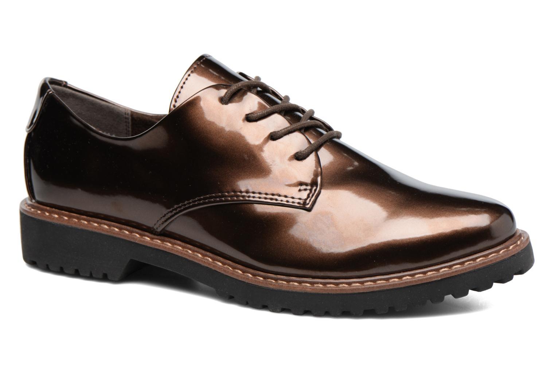 Chaussures à lacets Marco Tozzi Beija Marron vue détail/paire