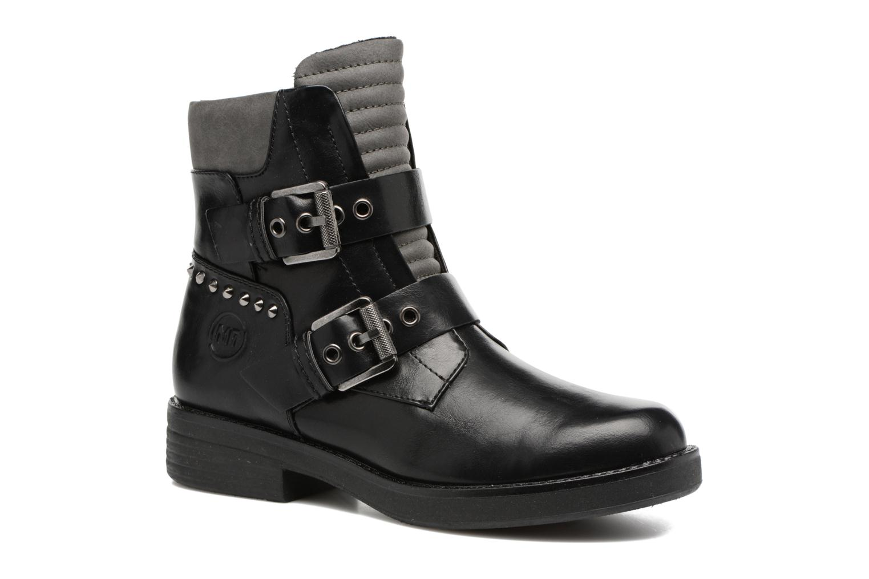 Bottines et boots Marco Tozzi Solia Noir vue détail/paire