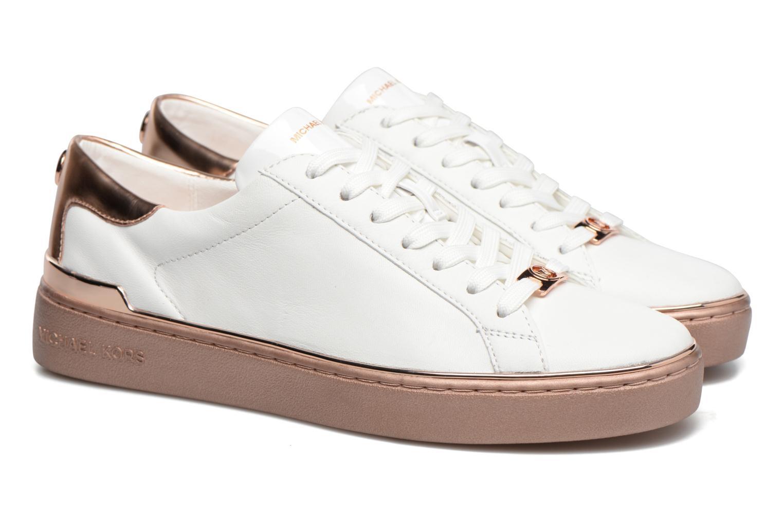 Baskets Michael Michael Kors Kyle Sneaker Blanc vue 3/4