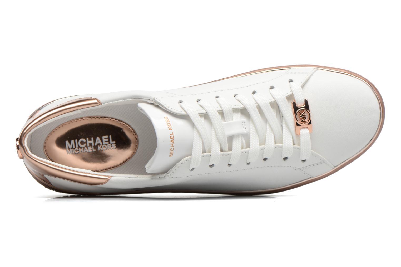 Baskets Michael Michael Kors Kyle Sneaker Blanc vue gauche