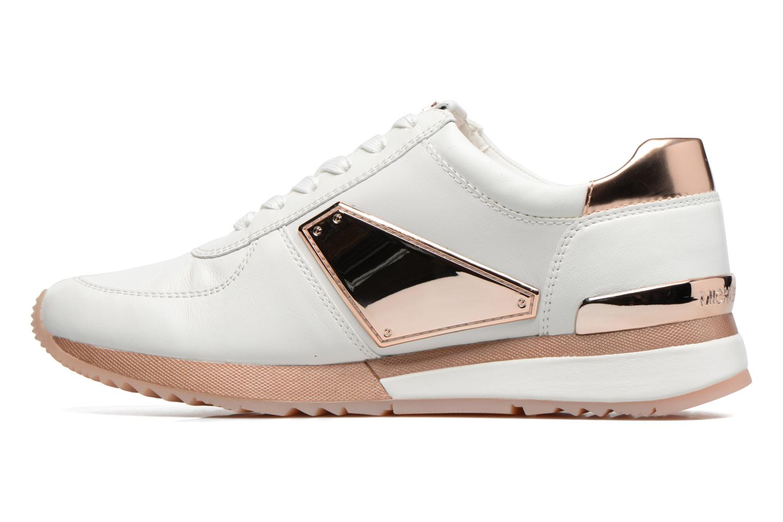 Sneakers Michael Michael Kors Allie Plate Wrap Trainer Blauw voorkant