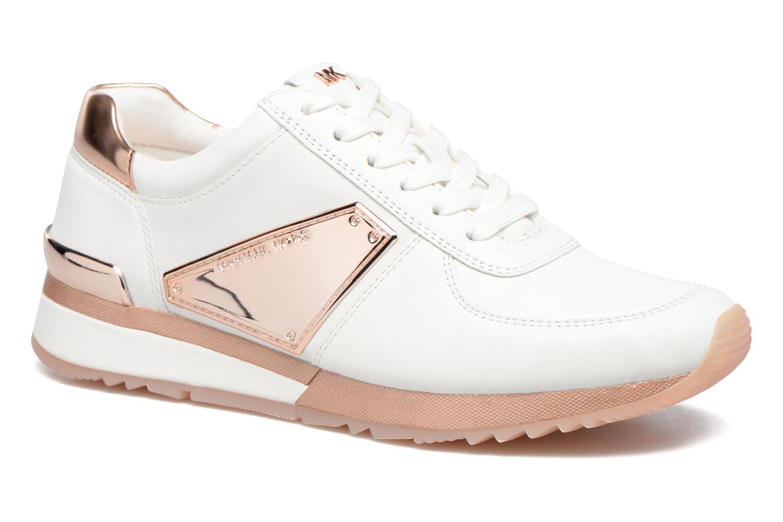 Sneakers Michael Michael Kors Allie Plate Wrap Trainer Blauw detail