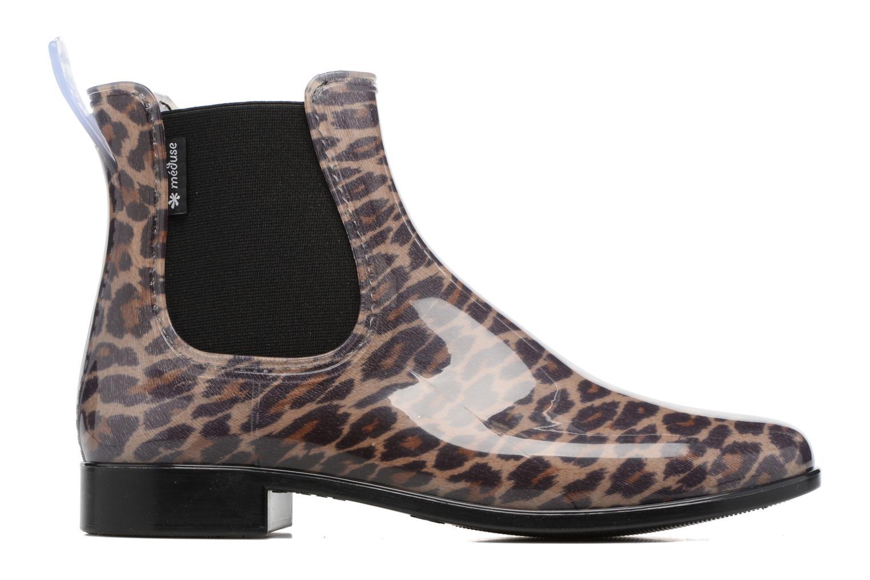 Bottines et boots Méduse Japlou Marron vue derrière