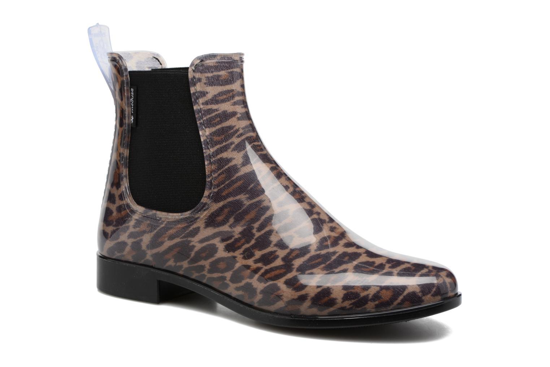Bottines et boots Méduse Japlou Marron vue détail/paire