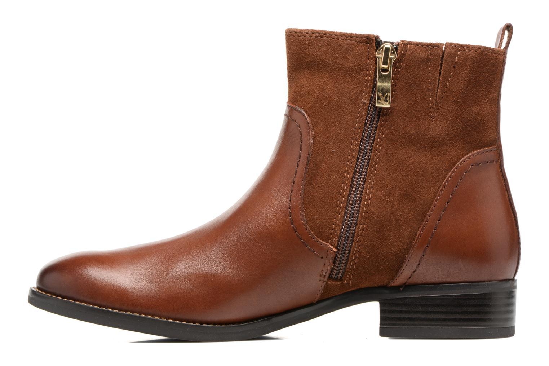 Bottines et boots Caprice Belen Marron vue face