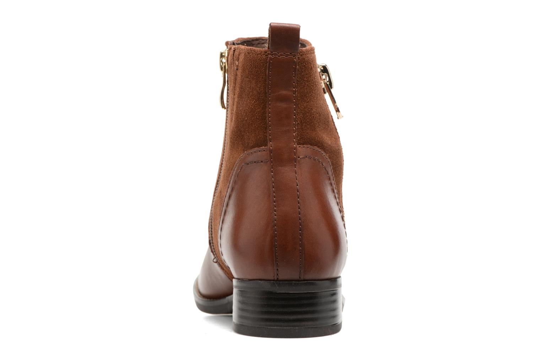 Bottines et boots Caprice Belen Marron vue droite