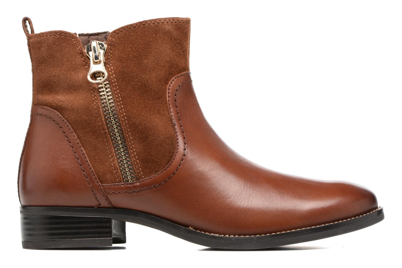 Bottines et boots Caprice Belen Marron vue derrière
