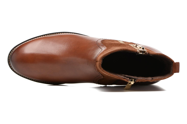 Bottines et boots Caprice Belen Marron vue gauche