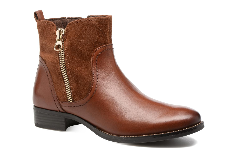 Bottines et boots Caprice Belen Marron vue détail/paire