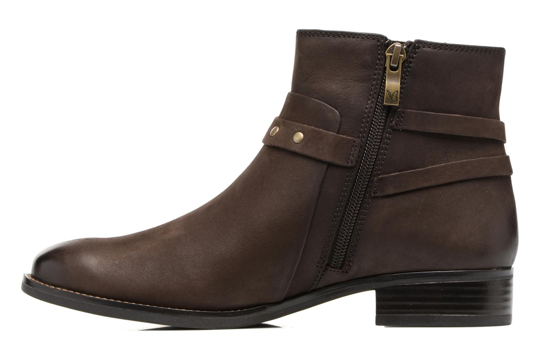 Bottines et boots Caprice Kapria Marron vue face