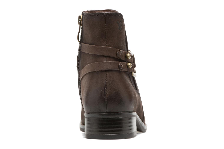 Bottines et boots Caprice Kapria Marron vue droite