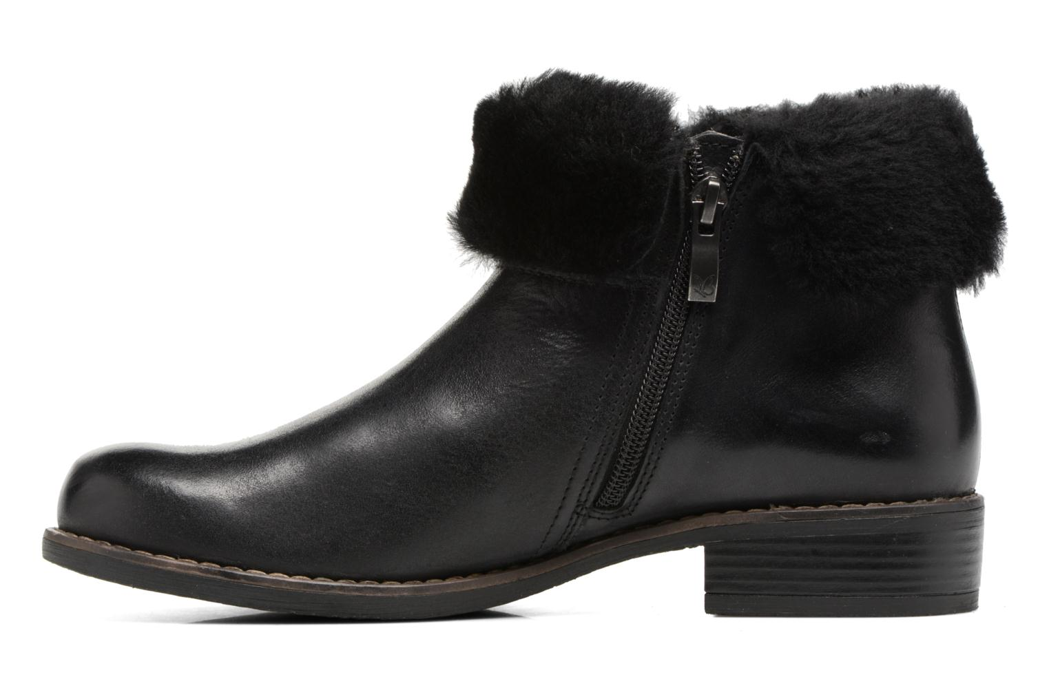 Ankle boots Caprice Santana Black front view