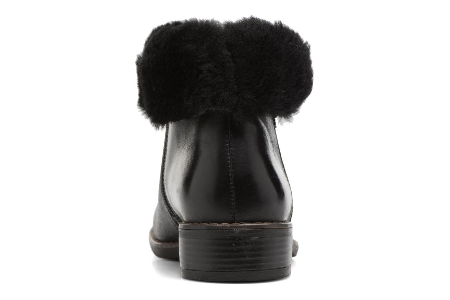 Ankle boots Caprice Santana Black view from the right