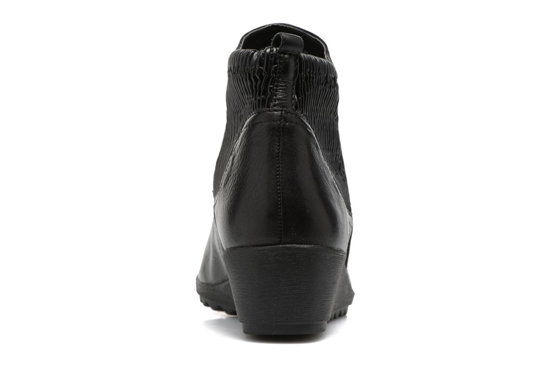 Bottines et boots Caprice Bettina Noir vue droite