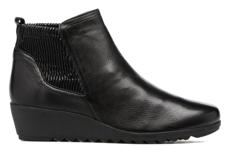 Bottines et boots Caprice Bettina Noir vue derrière