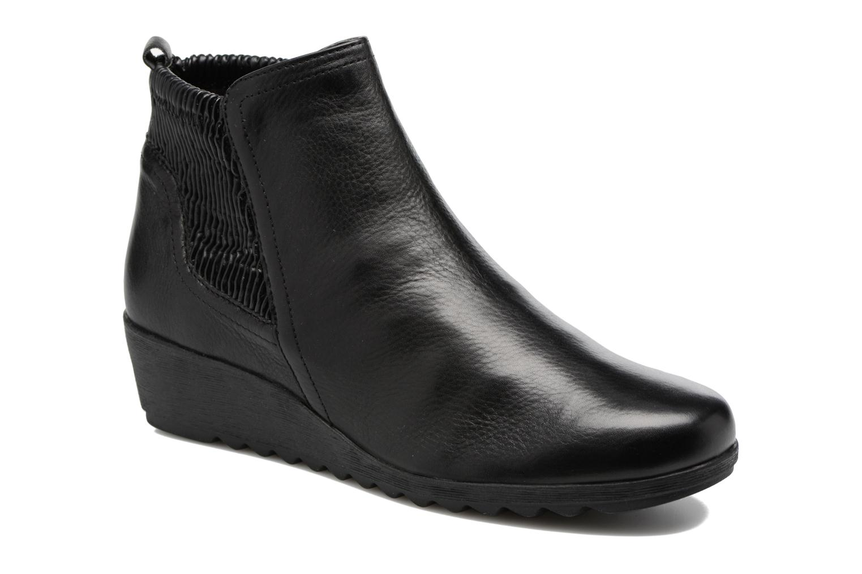 Bottines et boots Caprice Bettina Noir vue détail/paire