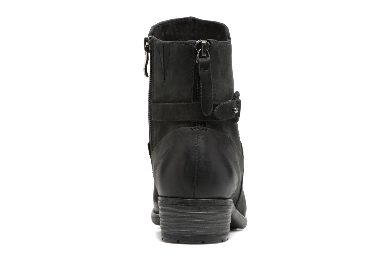 Dusty Black Black Nubuc
