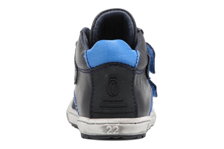 Baskets Shoesme Sylvain Bleu vue droite