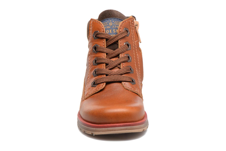 Bottines et boots Shoesme Stéphane Marron vue portées chaussures