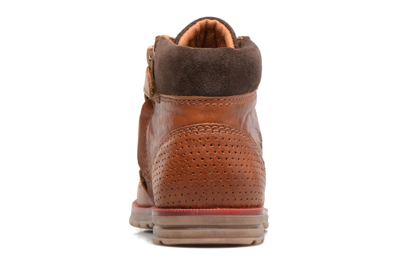 Bottines et boots Shoesme Stéphane Marron vue droite