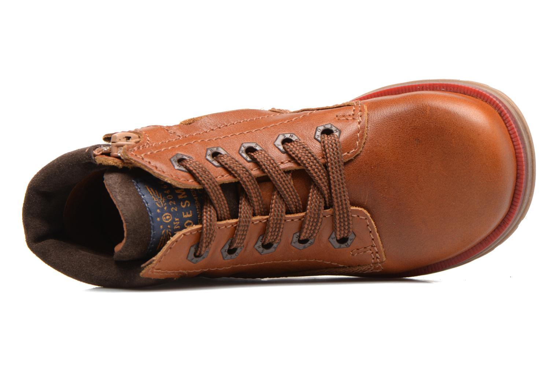 Bottines et boots Shoesme Stéphane Marron vue gauche