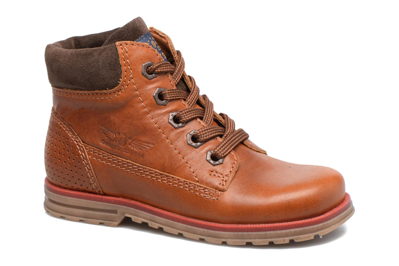 Bottines et boots Shoesme Stéphane Marron vue détail/paire