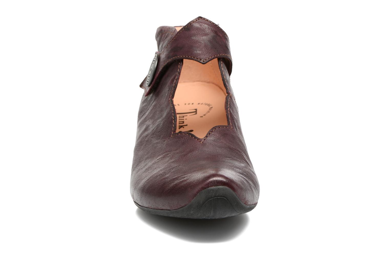 Bottines et boots Think! Aida 81259 Bordeaux vue portées chaussures