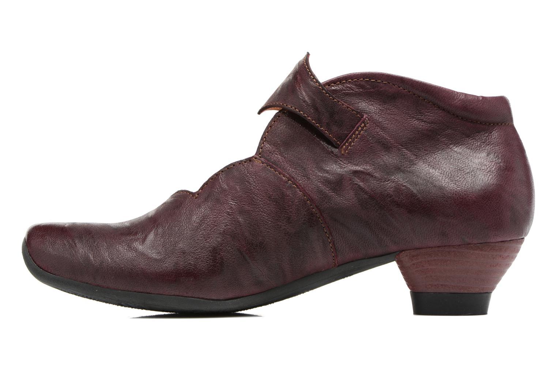 Bottines et boots Think! Aida 81259 Bordeaux vue face