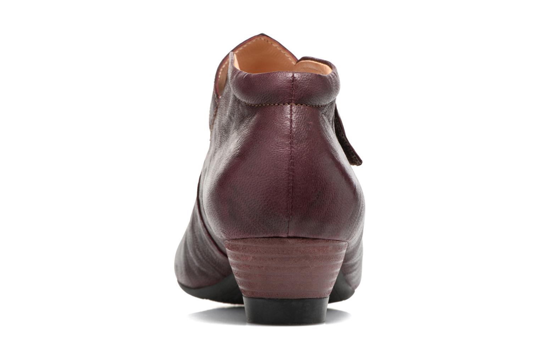 Bottines et boots Think! Aida 81259 Bordeaux vue droite