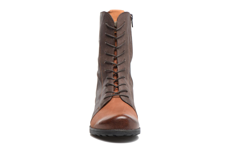Bottines et boots Think! Denk! 81023 Marron vue portées chaussures