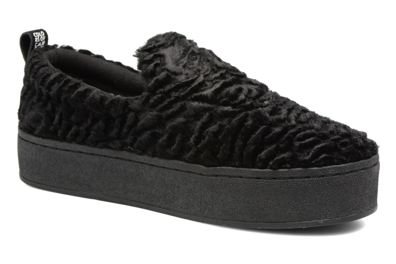 Zapatos de mujer baratos zapatos de mujer Colors of California Valentina (Negro) - Deportivas en Más cómodo