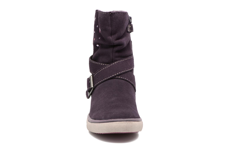 Bottines et boots Lurchi by Salamander Cina-Tex Violet vue portées chaussures