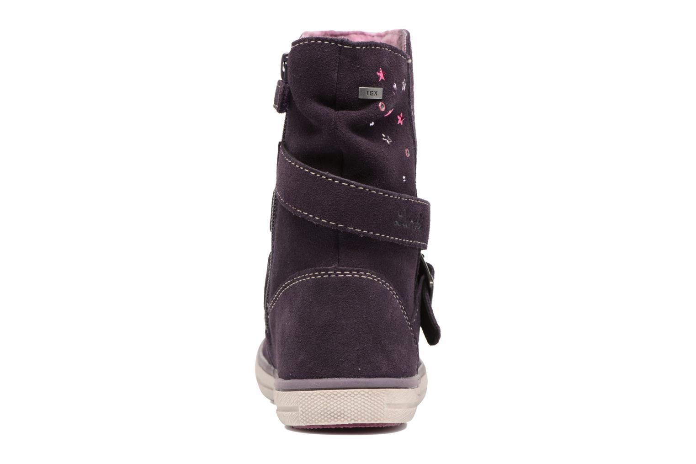 Bottines et boots Lurchi by Salamander Cina-Tex Violet vue droite