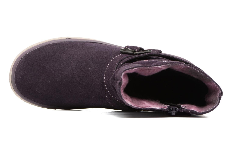 Bottines et boots Lurchi by Salamander Cina-Tex Violet vue gauche