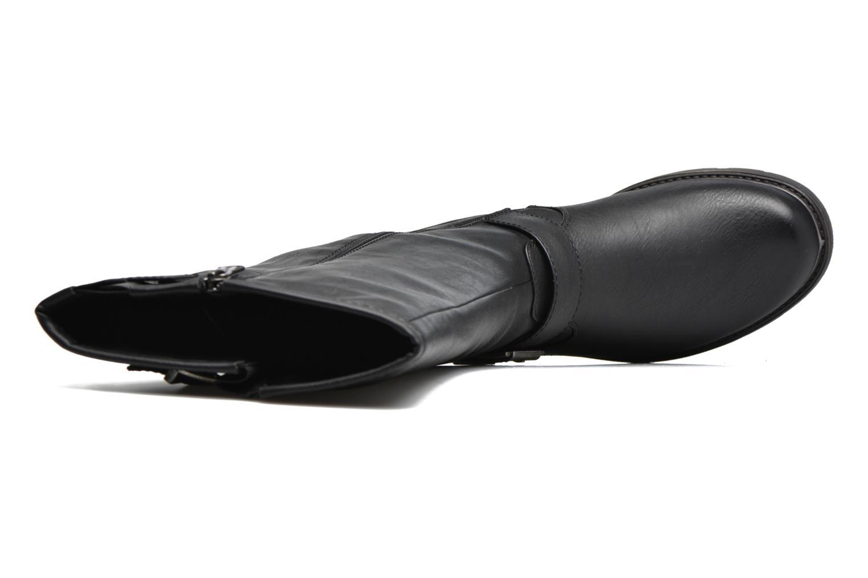 Botas Refresh Otepa Negro vista lateral izquierda