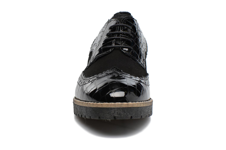 Chaussures à lacets Dune London Faune Noir vue portées chaussures
