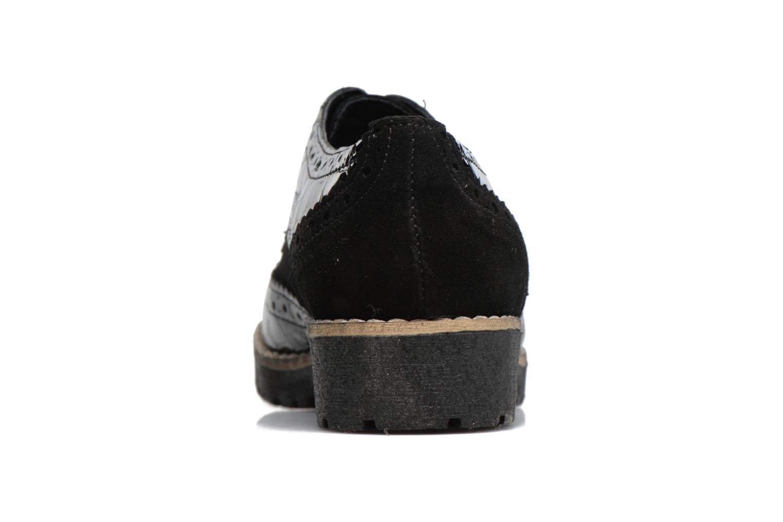 Chaussures à lacets Dune London Faune Noir vue droite