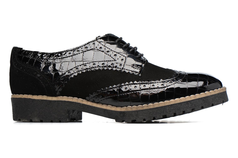Chaussures à lacets Dune London Faune Noir vue derrière
