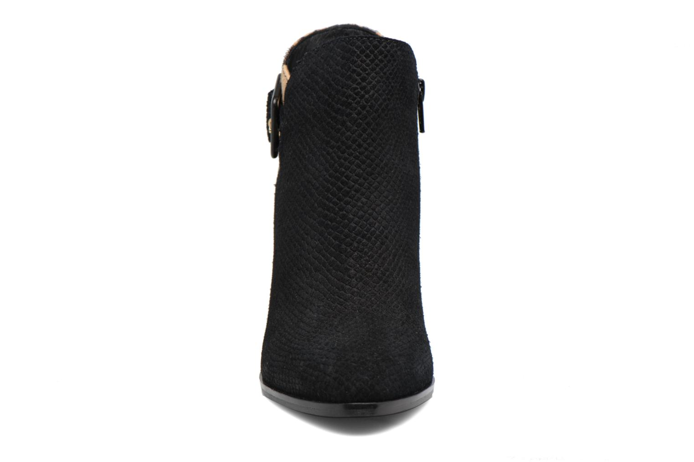 Stivaletti e tronchetti Dune London Oaklee Nero modello indossato